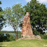 Ruiny zamku w Drawnie
