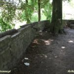 Ruiny zamku w Resku