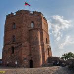 Zamek górny w Wilnie Baszta Giedymina