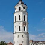Wilno katedra i Pałac Wielkich Książąt Litewskich na Zamku Dolnym