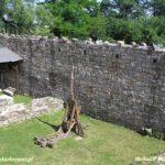 Zamek w Chudowie po rekonstrukcji.