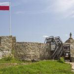 Muszyna. Ruiny zamku biskupów krakowskich.