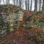 Ruiny zamku Ostrężnik