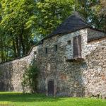 Bruntal miejskie mury obronne