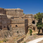 Famagusta mury miejskie. Ravelin i Brama Limasolska