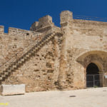 Famagusta mury miejskie Brama Morska
