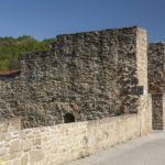 Bardejów mury miejskie. Brama Dolna.