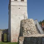 Bardejów mury miejskie. Renesansowa baszta.