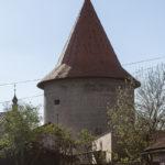 Bardejów mury miejskie. Klasztorna baszta