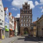 Bartoszyce miejskie mury obronne Brama Lidzbarska.