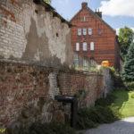 Bartoszyce miejskie mury obronne.
