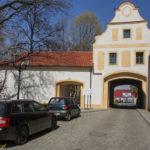 Głogówek miejskie mury obronne Brama Zamkowa