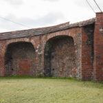 Olesno fragment muru miejskiego