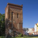 Zamek w Braniewie wieża bramna