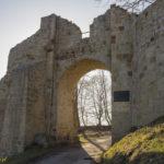 Dobczyce mury miejskie Brama Wschodnia