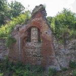 Zamek w Przezmarku, ruiny bramy