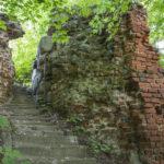 Zamek w Przezmarku, ruiny zamku głównego