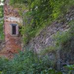 Zamek w Przezmarku, wieżyczka płn-wsch zamku głównego