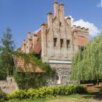 Zamek w Przezmarku, nowożytna zabudowa podzamcza