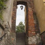Sandomierz mury miejskie furta Ucho Igielne