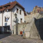 Miejskie mury obronne Cieszyna Brama Młyńska