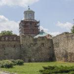 Miejskie mury obronne Wielunia Brama Krakowska