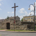 Miejskie mury obronne Wielunia Brama Kaliska