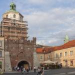 Lublin mury miejskie brama Krakowska