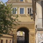 Lublin mury miejskie brama Grodzka