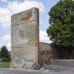 Miejskie mury obronne w Sępopolu relikty bramy
