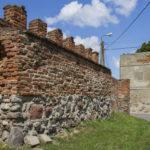 Miejskie mury obronne w Sępopolu