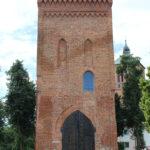 Zdjęcia Punktu Informacji Turystycznej MBP w Braniewie. Zamek w Braniewie wieża bramna