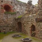 Zamek w Bausce skrzydło wschodnie