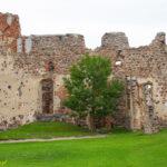 Zamek w Dobele zamek górny