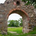 Zamek w Dobele podzamcze