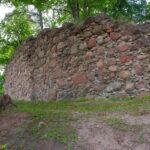 Ruiny zamku w Kandawie