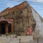 Sebes miejskie mury obronne relikty bramy zachodniej