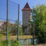 Sebes miejskie mury obronne baszta Krawców lub Studencka