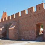 Opole zrekonstruowany fragment murów obronnych