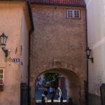 Ryga mury miejskie brama Szwedzka