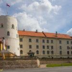 Ryga mury miejskie wieża św. Ducha